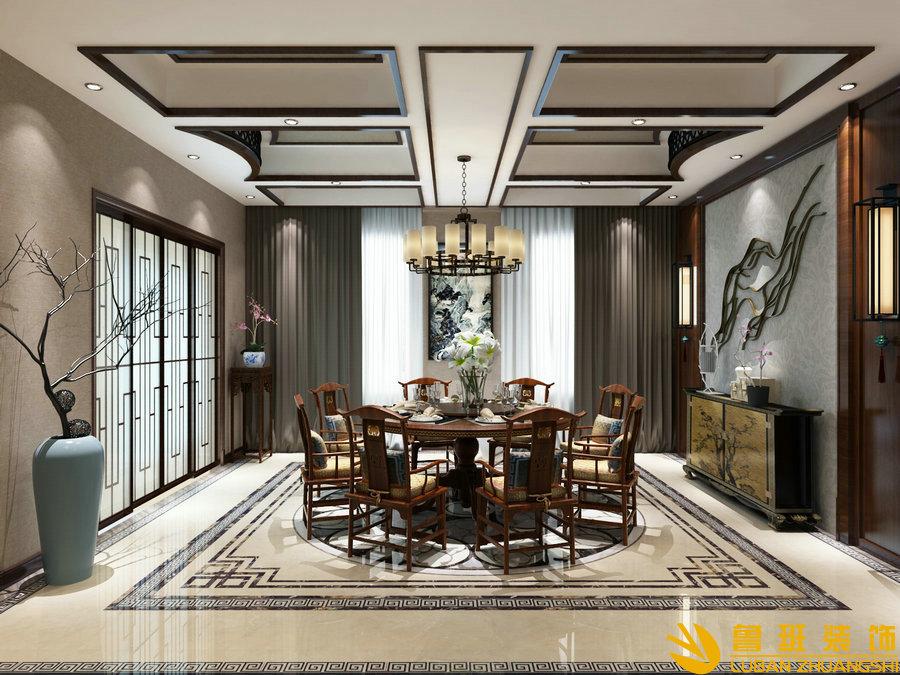 怡美嘉园460平米独栋别墅装修设计效果图