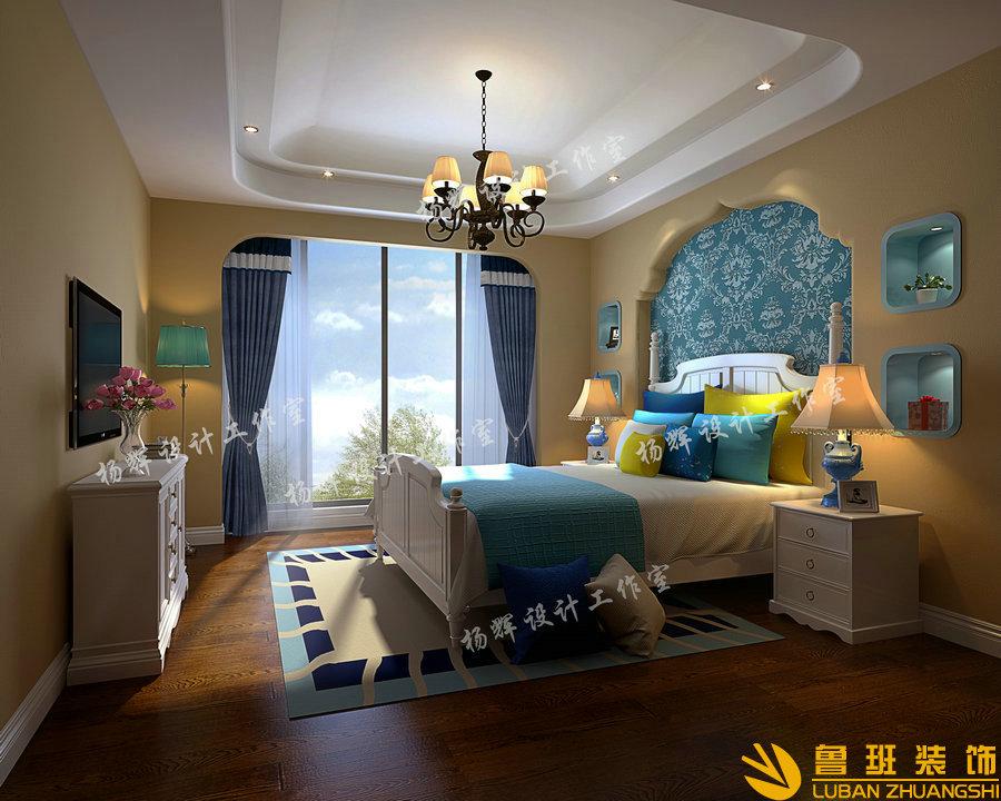 华侨城·东岸360平欧式别墅设计装修女儿房