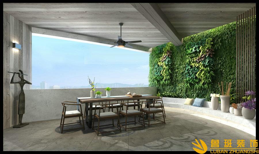 龙湖世纪峰景380大平层设计装修茶室
