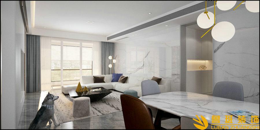 城南一号240平五房两厅装修设计效果图
