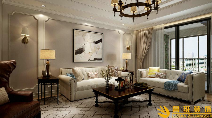 南苑183平米四房两厅设计装修效果图