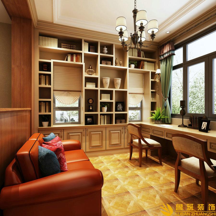 中粮.御嶺湾370平美式别墅设计装修活动室