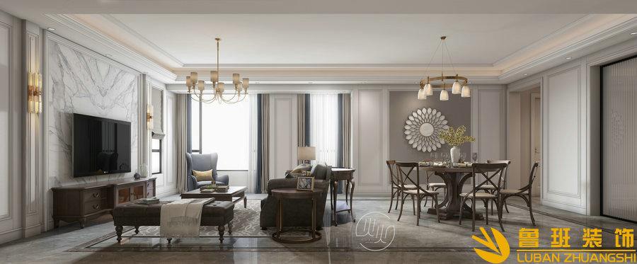 紫云府140平新房装修设计效果图