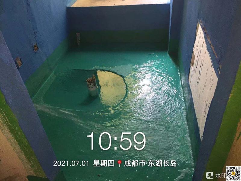 人居东湖长岛样板间卫生间/厨房/阳台重要区域防水试验