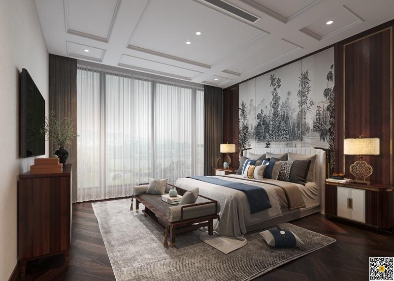新中式别墅装修设计效果图5.jpg