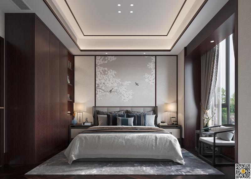 新中式别墅装修设计效果图4.jpg